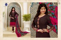 FRENCH CRAPE FABRIC SALWAR KAMEEZ