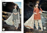 LAWN COTTON FABRIC SALWAR KAMEEZ