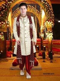 Men Wedding & Bridal Dhoti Shervani