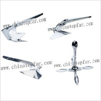 AISI316 stainless steel anchor for boat and luxury yacht