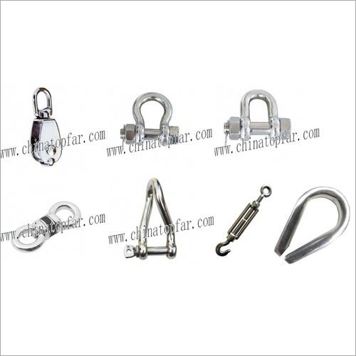 Stainless steel AISI304/AISI316 wire rope,shackle,thimble,rigging ...