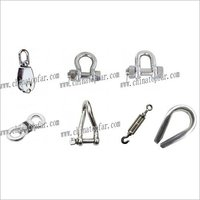 Stainless steel AISI304/AISI316 wire rope,shackle,thimble,rigging screw,turnbuckle for boat