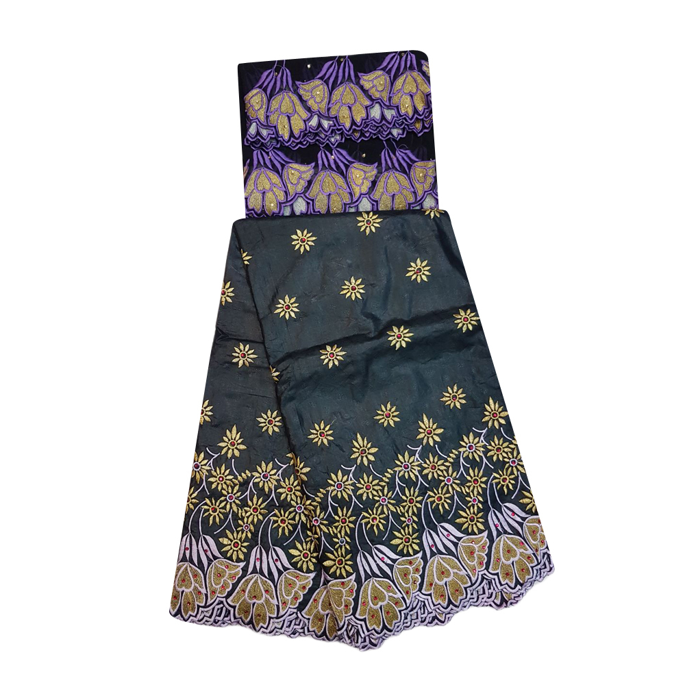 Bazin Embroidery Unstitched suit