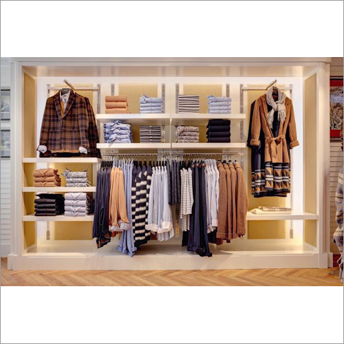 Garments Display Wall Panels Systems
