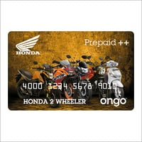 Plastic Reward Card
