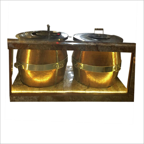 Commercial Copper Tandoor
