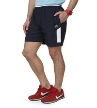 Mens Nevy & White Shorts