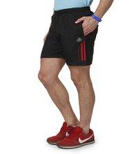 Black & Red Shorts for men