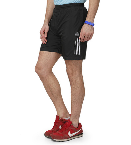 Black & white Men's Shorts