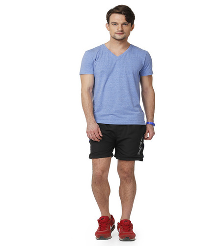 Men's shorts (black&red)