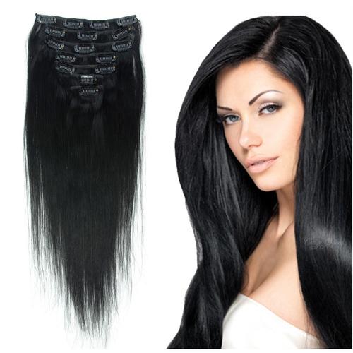 VIRGIN CLIP HAIR EXTENSION