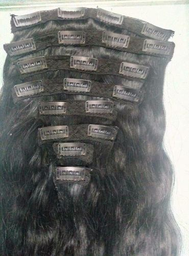 UNPROCESSED CLIP HAIR EXTENSION