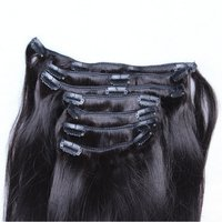 STRAIGHT CLIP HAIR EXTENSION