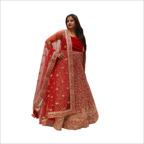 Designer Embroidered Bridal Lehenga