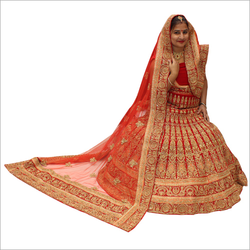 Ladies Gotta Work Bridal Lehenga