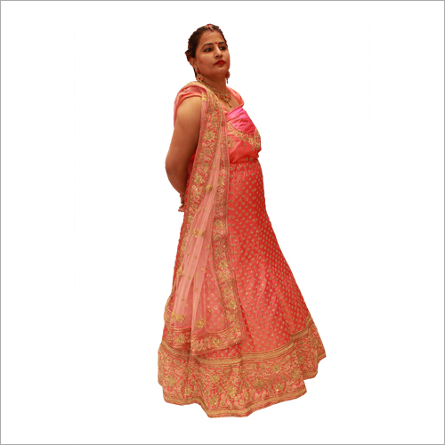 Embroidered Lehenga Saree