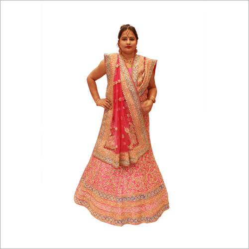 Fine Emboidered Wedding Lehenga