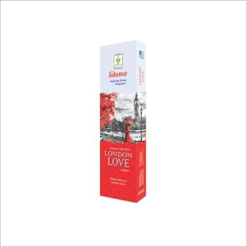 London Love White Incense Stick