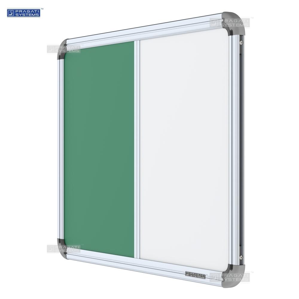 Iris Combination Board (Whiteboard + Chalkboard)
