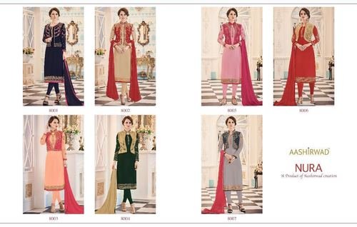 Aashirwad Lunching New Koti Style Salwar Suit Catalog