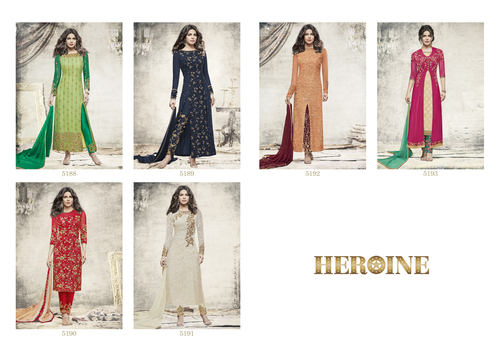 Heroine Lunching Party Wear Salwar Suit Catalog, Stardiva 5188 To 5193 Series