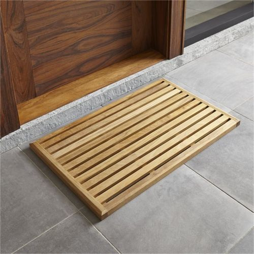 Wooden Boot Tray