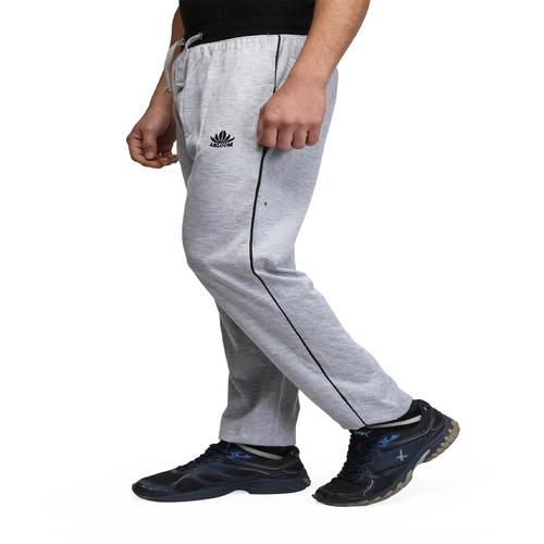 Mens grey&blue cotton pant