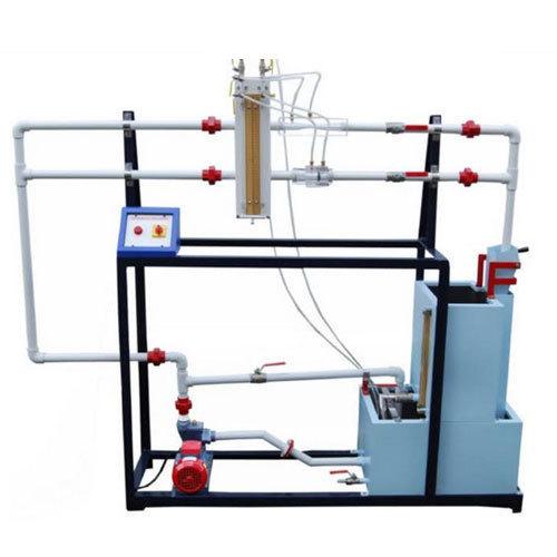 Discharges Through Venturimeter & Orifice Meter Apparatus