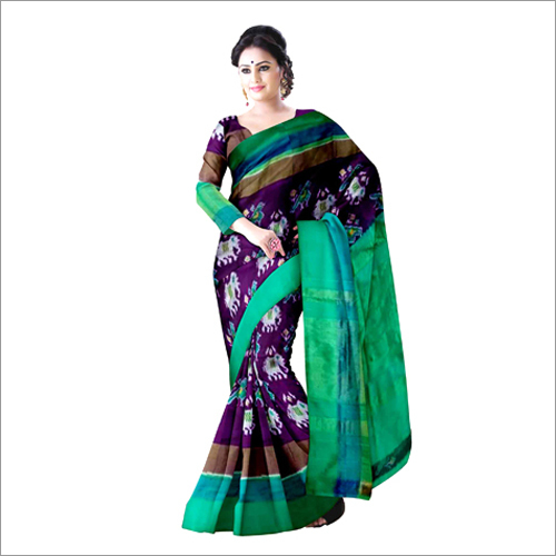 Ladies Pochampally Ikkat Silk Sarees