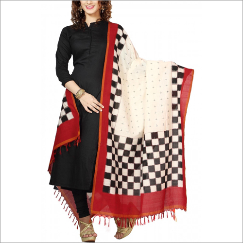 Ladies Pochampally Ikat Dupatta