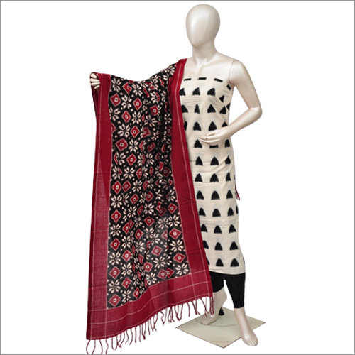 Ladies Pochampally Ikat Dress Materials