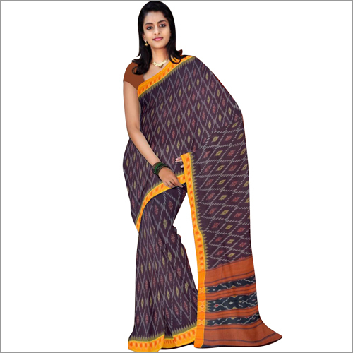 Ladies Pochampally Ikat Cotton Sarees