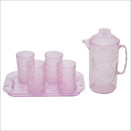 Plastic Juice Set