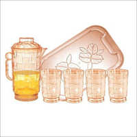 Glass Juice Set