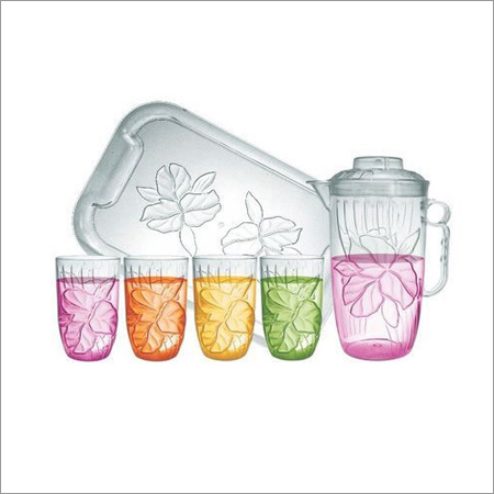 Plastic Juice Set