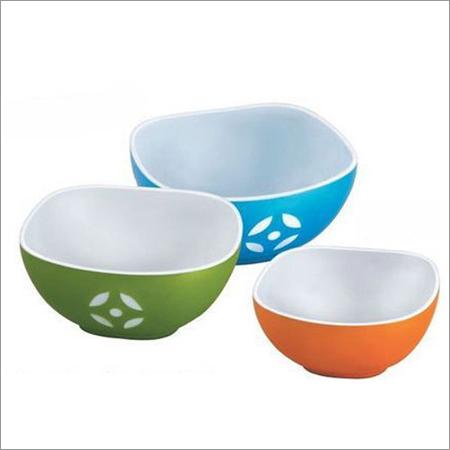 Plastic Square Bowl