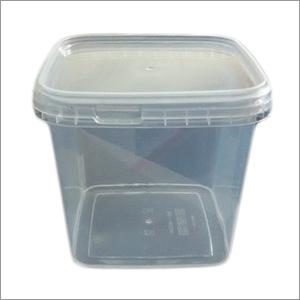 White Plastic Chocolate Box