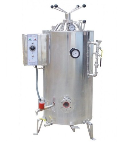 AUTOCLAVE VERTICAL HIGH PRESSURE ( triple walled ) dry sterilization