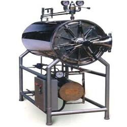 AUTOCLAVE HORIZONTAL ( cylindrical with separate boiler )