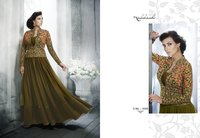 Floor Length Party Wear Gown