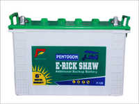 120AH E-Rickshaw Battery