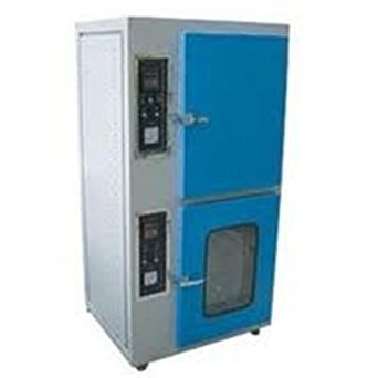 COMBINED HOT AIR OVEN & INCUBATOR ( twin model )