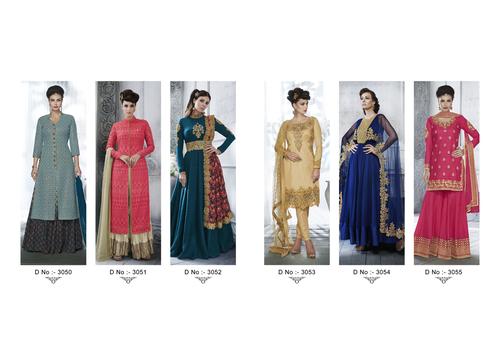 Nakkashi Lunching New Designer Salwar Suit Catalog Enchanting 3050 To 3055 Series