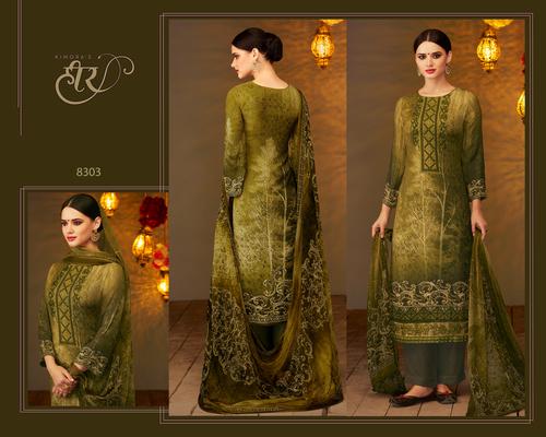 Digital Print Pashmina Salwar Suit