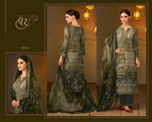 Pashmina Embroidery Work Salwar Kameez