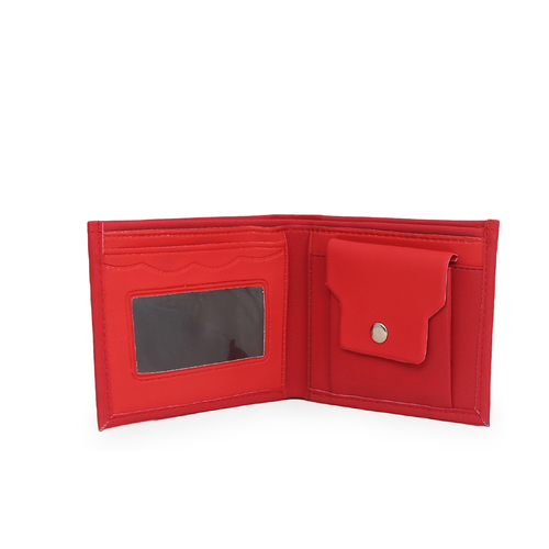 Mens Red Wallet