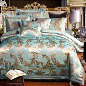 Jacquard Print Bed Sheet