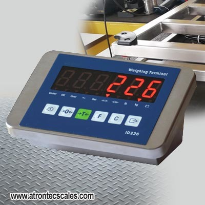 Stainless Steel Weighing Terminal with IP67