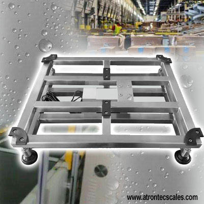 Bench Scale Stainless Steel Square Tube Platform