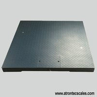 Carbon Steel Floor Scale Platform with Frame